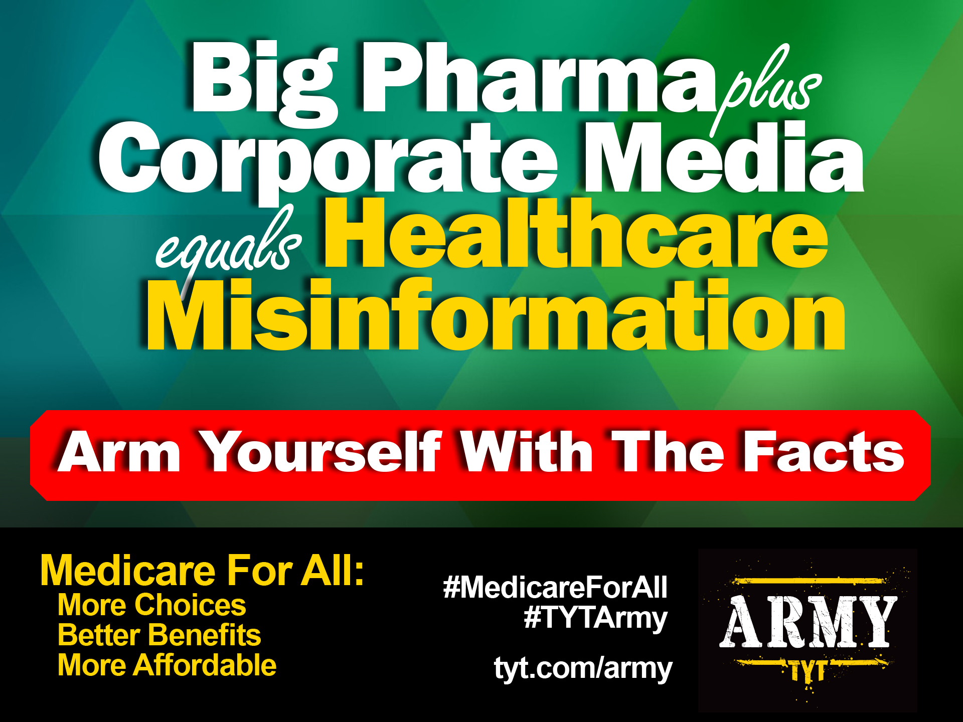 Big Pharma Plus Corporate Media Equals Healthcare Misinformation