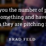 Brad Feld Quote