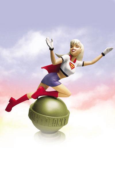 Supergirl statue