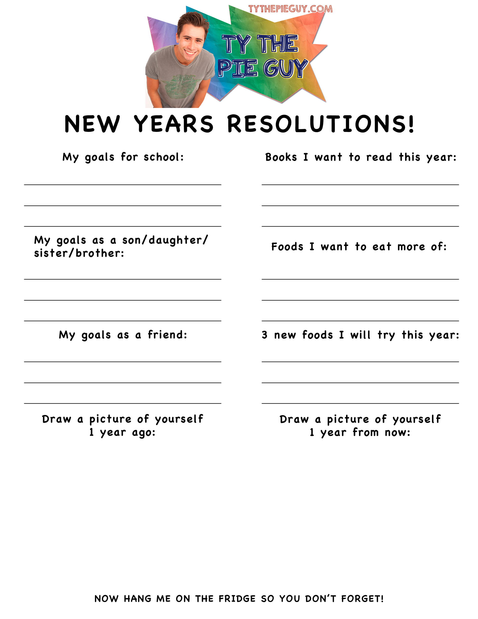 New Year New Resolutions