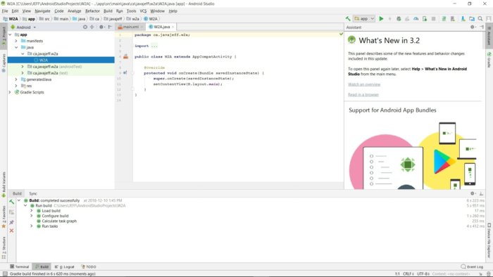 Android Studio for beginners, Part 2: Explore and code the app -
