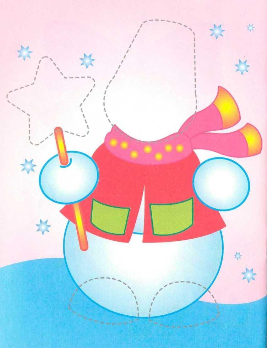 картинки рождественские аппликации свою