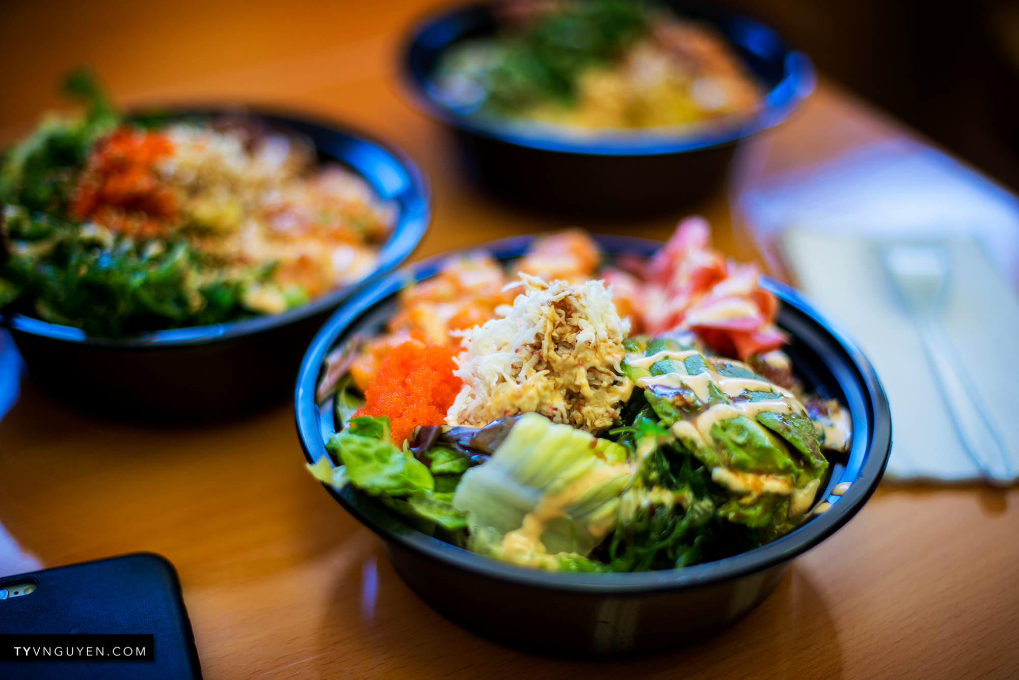 Ahi poke bowl is the new must try ty nguyen for Go fish poke dallas