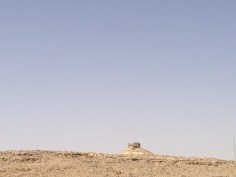 The Camel: Where We Stood to Overlook the Crater