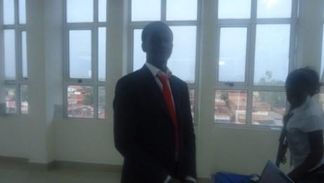 Abdoul Aziz WELGO Capitaine de l'équipe et étudiant en fin de cycle des ingénieurs de travaux informatique