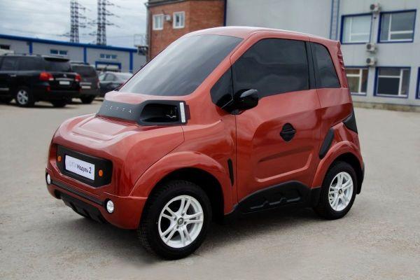 Мантуров: первый российский электромобиль Zetta ...