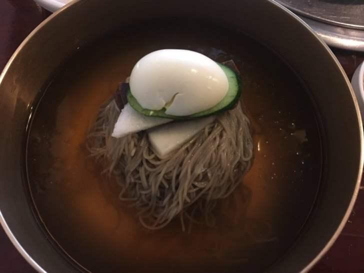 江西麺屋 分店の平壌冷麺