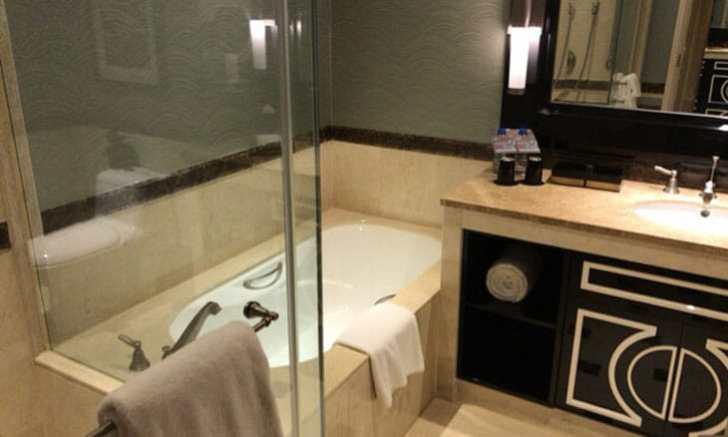 シェラトン・マカオホテル, コタイセントラルの浴室