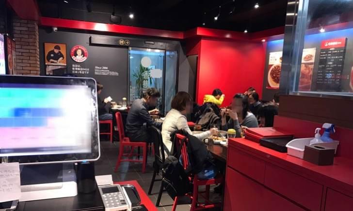 香港飯店0410 テーブル席
