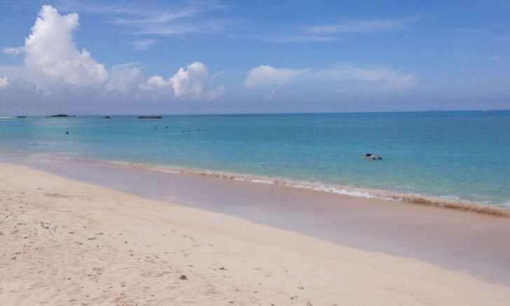 波照間島 ニシ浜 海水浴
