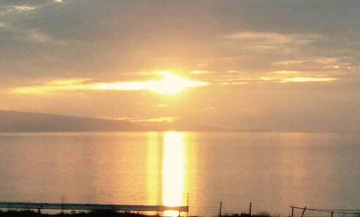 石垣島ミルミルからの夕日