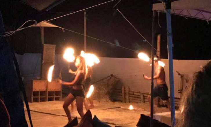 ボラカイ島 ファイヤーダンス
