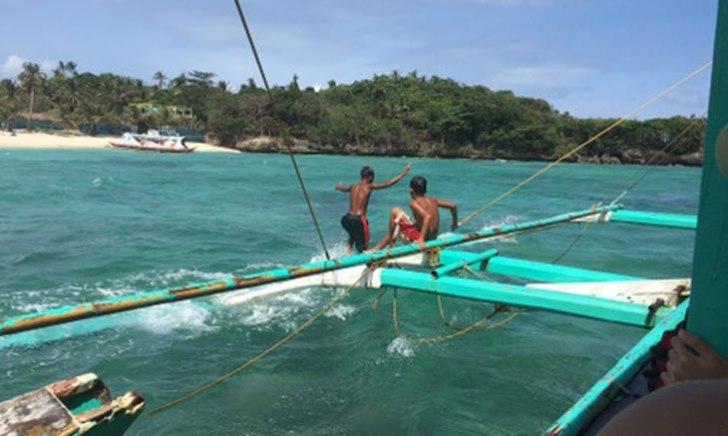 フィリピン バンカーボート 子供