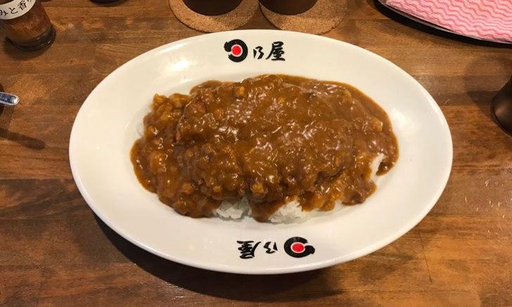 日乃屋カレー 新宿御苑店 名物カツカレー