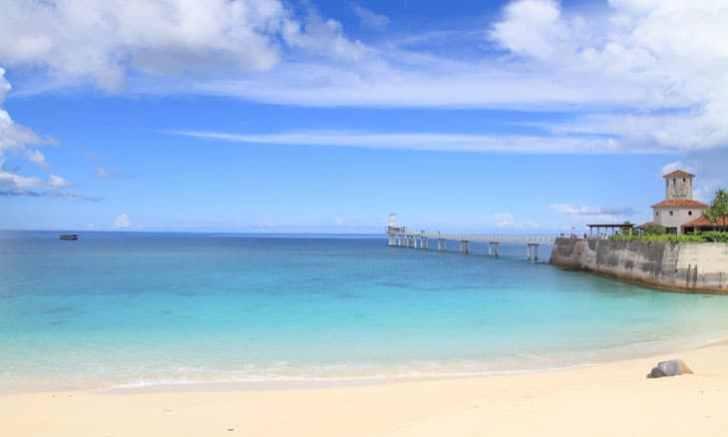 沖縄本島北部 ブセナビーチ
