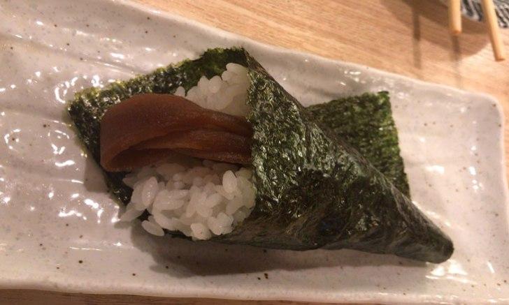 きづなすし 新宿歌舞伎町店 食べ放題 かんぴょうの手巻き