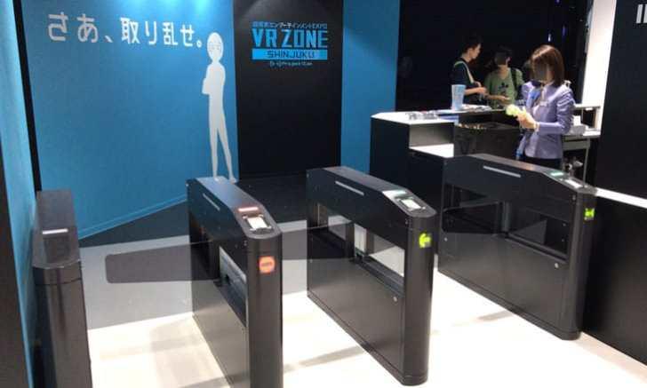 新宿 歌舞伎町 VR ZONE SHINJUKU 入場ゲート
