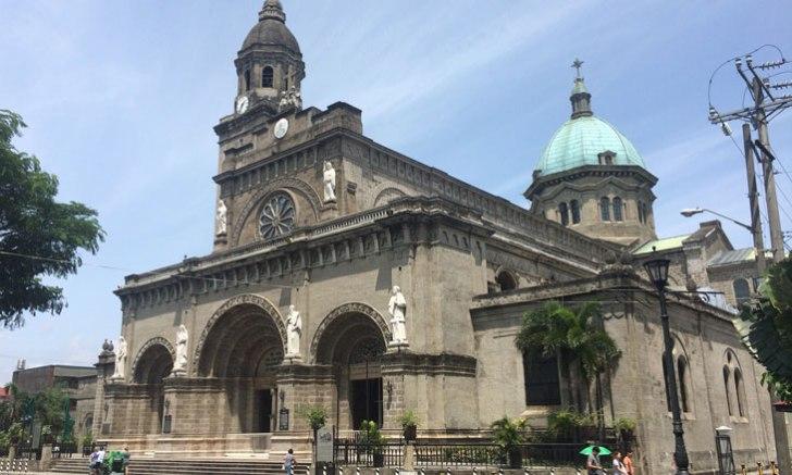 【フィリピン】イントラムロスのシンボル「マニラ大聖堂」に行ってきた