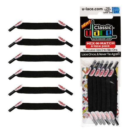 U-Lace Classic MixNMatch Black