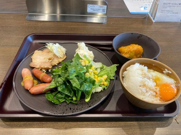 スーパーホテルPremier秋葉原 朝食