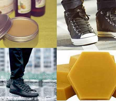 Péče o boty - balzámy na základě včelího vosku