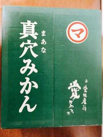 伊予銀行の株主優待品(1000株)真穴みかん