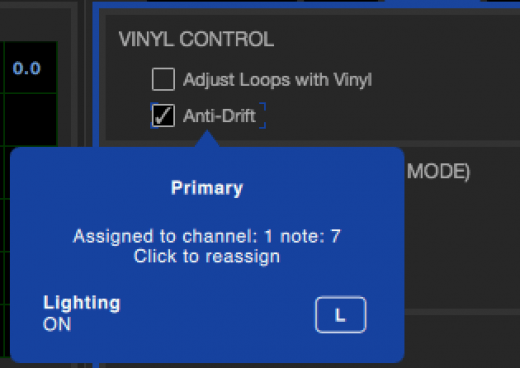 vinyl control anti drift