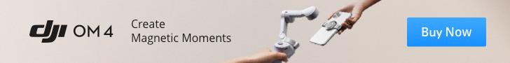 Dji Osmo Mobile 4 Mıknatıslı Gimbal | Tayfunca Teknoloji