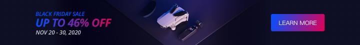 DJI Black Friday Drone Deals on Mavic Mini, Osmo Action, Mavic 2 Pro, Phantom 4 Pro and more!