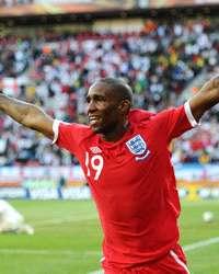 WC 2010: Jermain Defoe - England  - Slovenia (Getty Images)