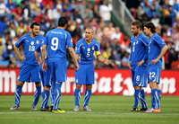 Zambrotta, Iaquinta, Cannavaro, De Rossi, Montolivo - Slovakia-Italy - WC2010 (Getty Images)