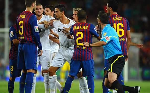 Spanish Supercopa: Barcelona-Real Madrid
