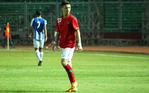 Syamsir Alam - Indonesia U-23 (GOAL.com/Sumarno)