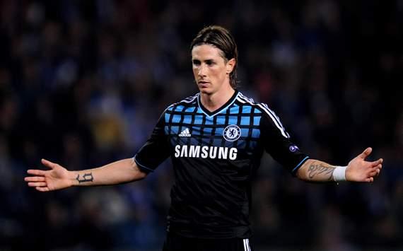 CL - KRC Genk v Chelsea FC, Fernando Torres