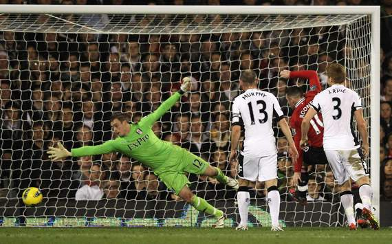 Rooney scoring against Fulham usually is a feature of matches at Old Trafford.