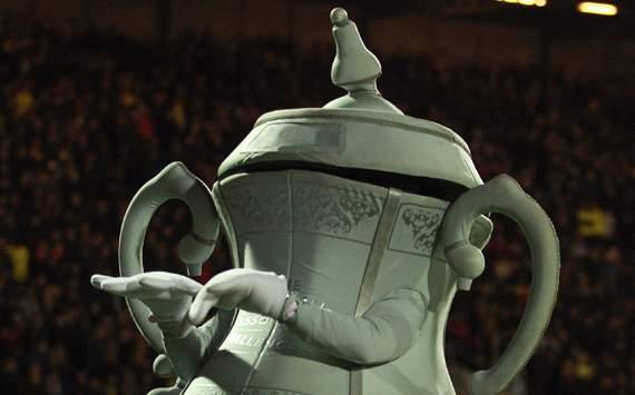 The FA Cup mascot