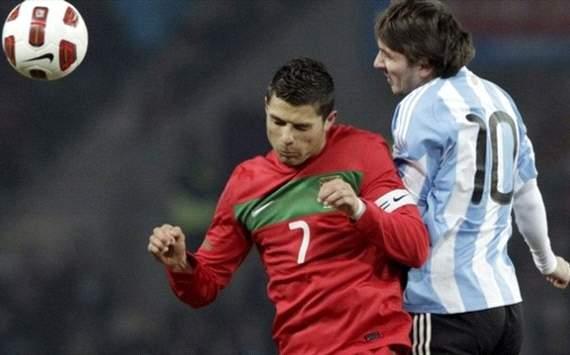 Lionel Messi vs Cristiano Ronaldo, Argentina y Portugal