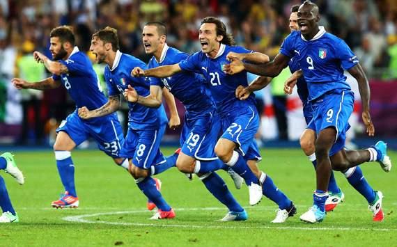 Menang Adu Penalti, Italia Singkirkan Inggris