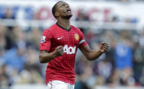 EPL; Patrice Evra; Newcastle United Vs Manchester United