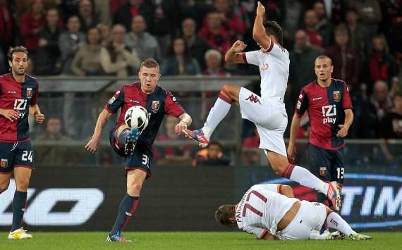 Kucka e Lamela in Genoa-Roma (Serie A)