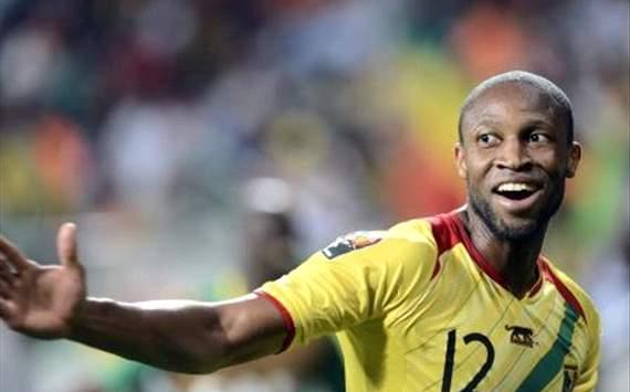 Keita celebrates after Mali goal