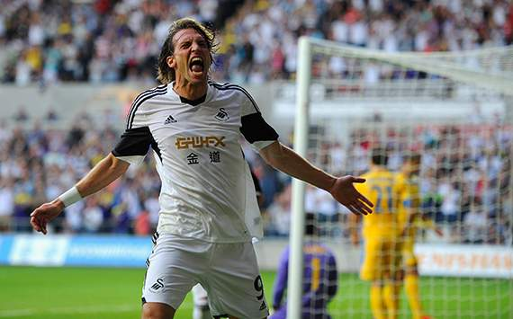 Europa League - Swansea City v FC Petrolul Ploiesti, Michu