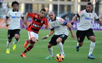 Corinthians x Flamengo, Brasileirão 2013