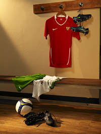 Ruang Ganti Pemain Tim Nasional Indonesia (GOAL.com / Nike)