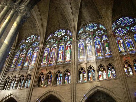 Vidrieras de Saint-Denis