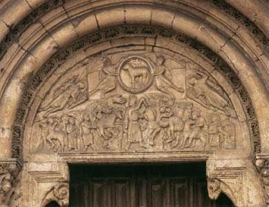 """Puerta del Cordero """"Agnus Dei"""".San Isidoro de León"""