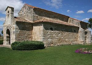 Iglesia visigoda.San Juan de Baños. Palencia.S.VII