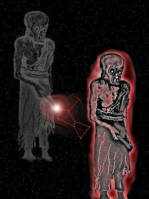 Figura adaptada de una ilustración de Petra Roeckerath, Stories of Maasaw, A Hopi God, Ekkehart Malotki and Michael Lomatuway'ma, University of Nebraska Press, Lincoln, 1987.