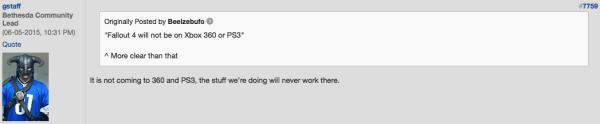 Официально: Fallout 4 не будет портирован на Xbox 360 или ...