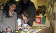 First animal sound kiosk of the Borror Lab. 2007